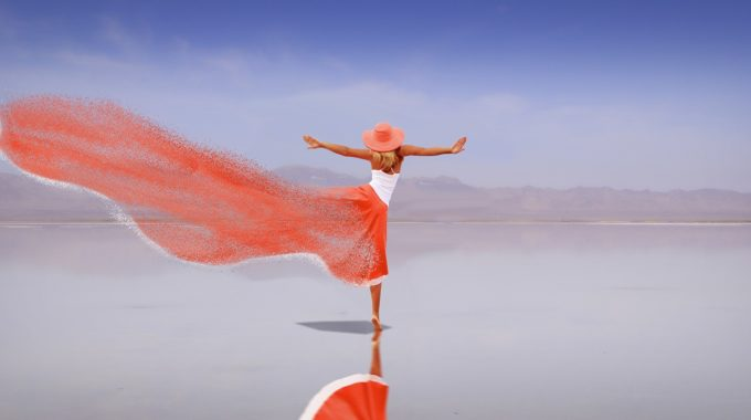 How To Break An Addiction, Woman Dancing On Water